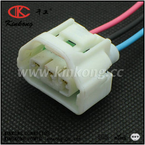 3pin female waterproof automotive electrical connectors  CKK7031W-2.2-21