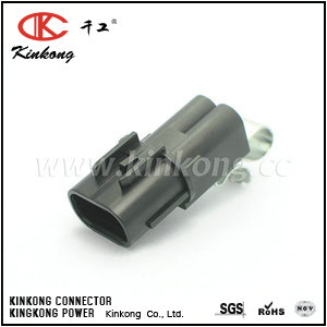 2 pin male waterproof automotive connectors CKK7025Q-2.5-11
