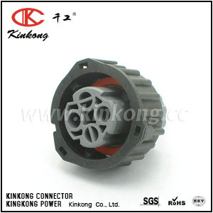 2 pole female waterproof tyco replecement pa66 connector CKK3022A-2.5-21