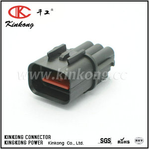 3 way male waterproof type car connectors CKK7035C-2.3-11
