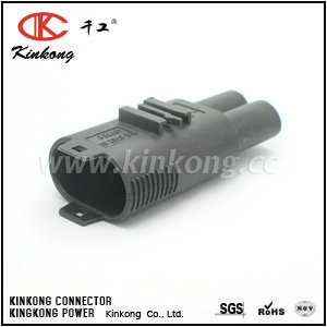 031 545 57 28 09 3702 01 48779 1 2 Pin male waterproof automotive plug CKK7023-7.8-11