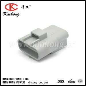 6188-0129 3 pin male car connectors CKK7032-4.8-11