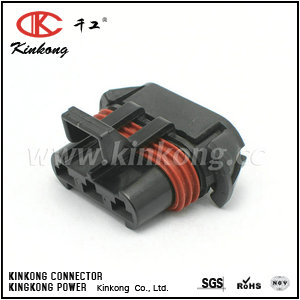 12124685 3 hole female Cooling fan connector CKK7032-6.3-21