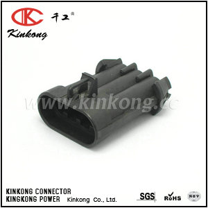15358681 3 way male wire connectors CKK7032-6.3-11