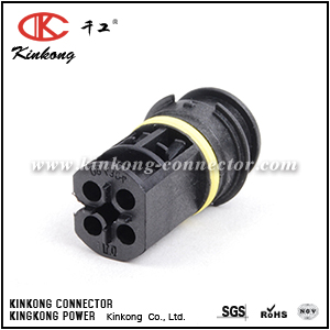 12521703571KT 4 way female electrical connector