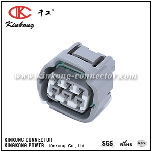 7283-7062-40 90980-11034 6 pole female waterproof automotive electrical connectors  CKK7061C-2.2-21