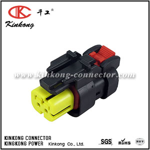 776427-3 waterproof 2 hole auto female connector