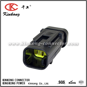 776428-3 2 ways male waterproof automotive electrical connector