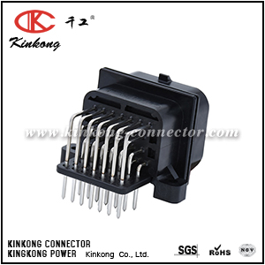 9-6437287-8 9-1437287-8 26 Pin TE connectivity ECU automotive connector with tin plating or gold plating CKK726A-1.6-11