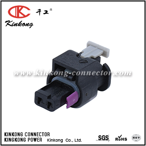 4F0 973 702,0-2112986-1,1-1718643-1,Tyco Amp 2 way female electric connectors CKK7022T-1.0-21