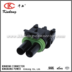 12015792 2 way female wire connectors for GM CKK3021-2.5-21