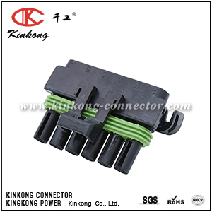 6 pin waterproof wire harness plug CKK3061B-2.5-21