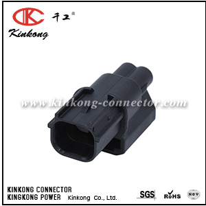 2 pin black blade waterproof automotive connector CKK7021-1.2-11