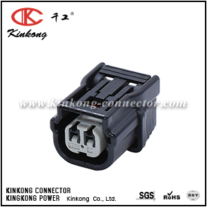 6189-7036 2 pin black female waterproof car electrical connector CKK7021-1.2-21