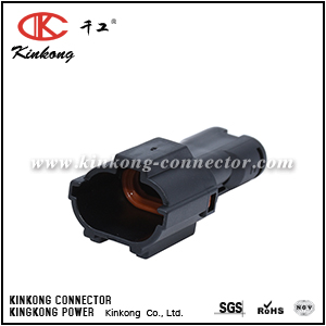7222-1424-30 2 hole male waterproof plug CKK7021-1.8-11