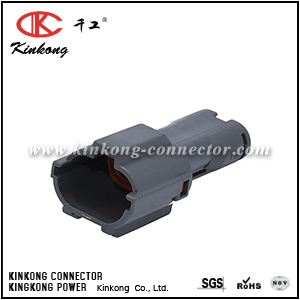 7222-1424-40 2 hole male waterproof cable connector  CKK7021A-1.8-11