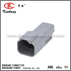 DT04-2P 2 pin DT series electrical connector