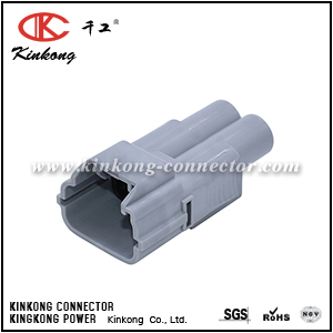 6188-0096 2 pole male wire cable plug CKK7022-7.8-11