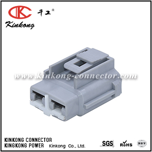 6189-0172 2 hole female electric connectors CKK7022-7.8-21
