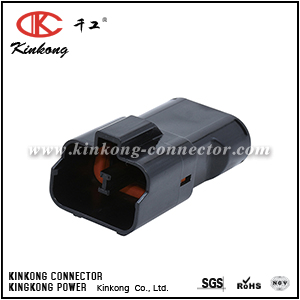 7222-4220-30 2 hole male electrical cable connector CKK7021-9.5-11