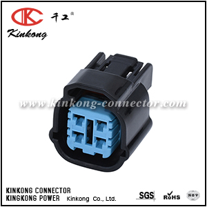 6189-0763 4 pole receptacle waterproof automotive connector CKK7045-2.0-21