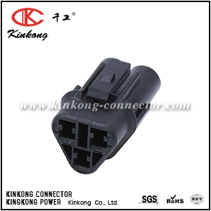 3 way female automotive electrical wire connectors  CKK7031Y-2.0-21