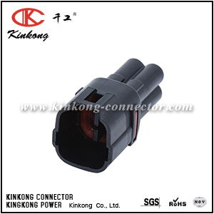 4 pins male waterproof loom connector CKK7041E-2.0-11