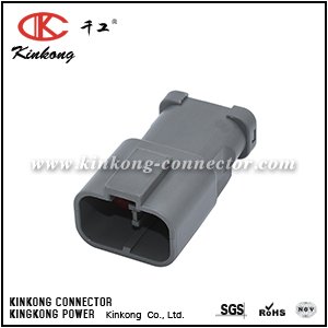 7222-6423-30 2 pin male cable connector CKK7021-6.3-11