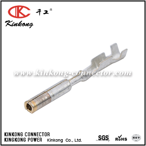 15435885 Micro-Pack 100W Series Female Unsealed Gold Plating Terminal, Cable Range 0.35 - 0.50 mm² CKK025-1.0FN