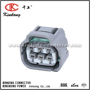 90980-10988 6 hole female waterproof wire connectors  CKK7061L-2.2-21