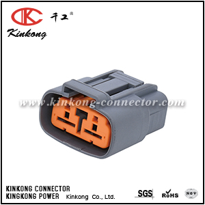 6195-0060 2 pole female auto connector  CKK7026-7.8-21