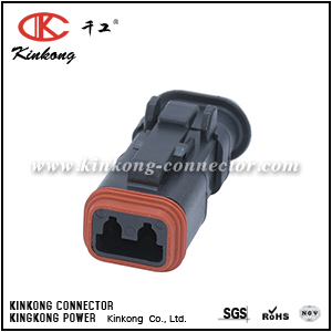 DT06-2S-EP11 2 way receptacle DT series electrical connector