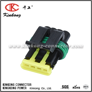 444046-1 13627093 4 hole female waterproof automobile connectors CKK7046A-1.2-21