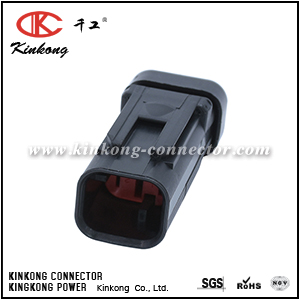 776534-1 2 pin automotive blade wire car connector CKK3025RD-1.5-11