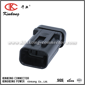 776535-2 Male 3 pin electrical waterproof auto connector
