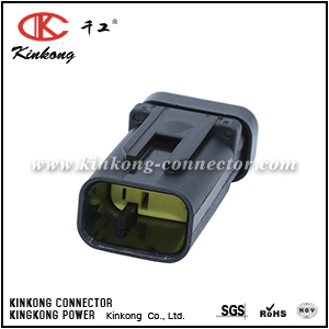 776535-3 3 pin blade Waterproof Auto connector with terminal and seals