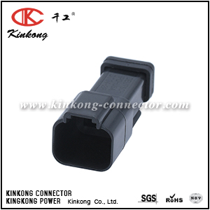 DT04-2P-E005 AT04-2P-EC01BLK 2 pin DT series blade electrical auto connector