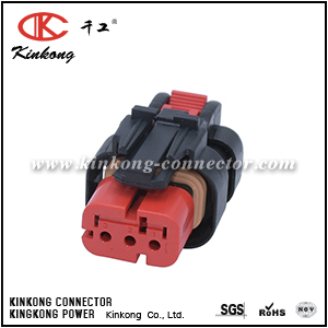 776523-1 3 way female electrical connectors CKK3035RD-1.5-21