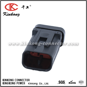 776535-1 3 pin  electrical auto connector with high quality CKK3035RD-1.5-11