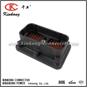 DRC20-50P01 50 pin male electric connector