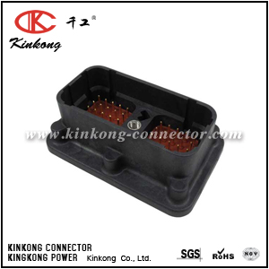DRC20-50P04 50 pin male cable connector