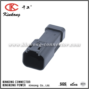 DT04-2P-E005 TE 2 pin male electrical connector