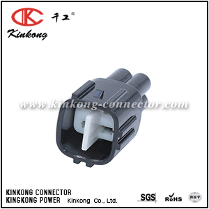 6188-0517 90980-11027 4 pin blade auto connection For Toyota 1JZ-GTE 2JZ-GTE O2 Sensor Bulkhead Connector CKK7046K-2.2-11