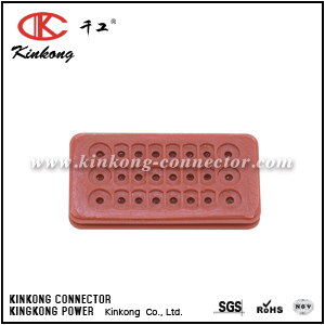 Hybrid seals for 24 pin connector CKK024-03