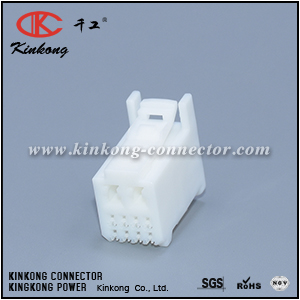 90980-12328 10 pole female cable connector