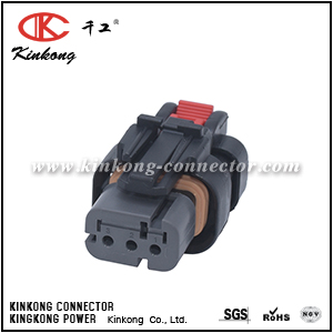 776429-2 3 ways receptacle waterproof automobile electric wire connector