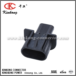3 pin male waterproof car connectors CKK7031-3.0-11