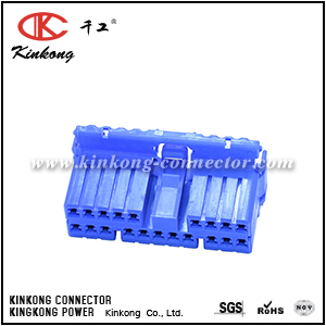 20 way female wiring connector CKK5202L-1.8-21