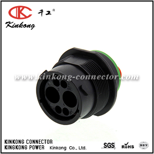HDP24-18-6PN-C030 2 pin male wire connectors
