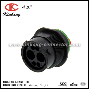 HDP24-18-6PN 6 pins blade automotive connector